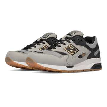 New Balance 1600 Elite Edition Lost Worlds, Stone Grey with Black