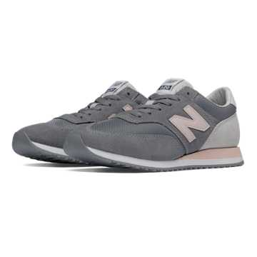 New Balance 620 New Balance, Grey with Cosmic Coral