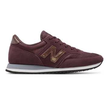 new balance 373 burgundy and gold
