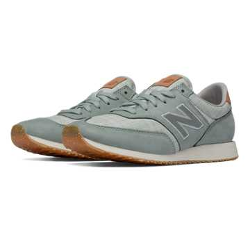 New Balance 620 NB Grey, Mint Cream with Silver Mink