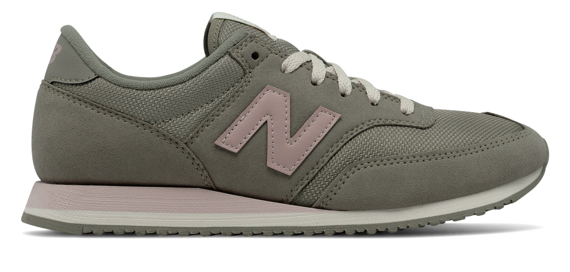 New Balance Women's 620 70s Running Shoes Green with Pink