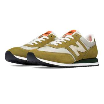 New Balance 620 Summit Suede, Green Olive with Beach Sand