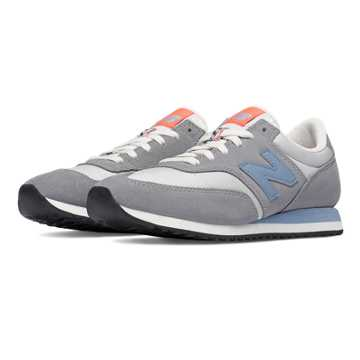 New Balance 620 Summit Suede, Steel with Icarus Blue