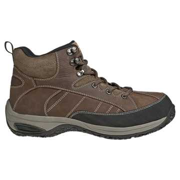 New Balance Dunham Lawrence Steel Toe, Dark Brown