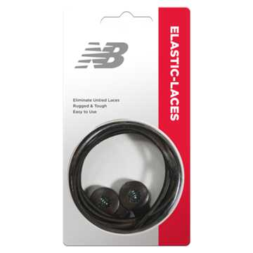 New Balance Elastic Laces, Brown