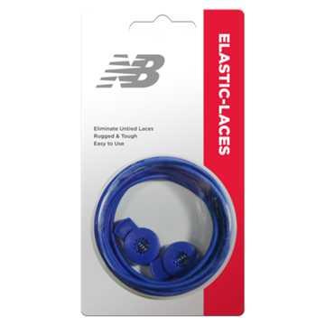 New Balance Elastic Laces, Royal Blue