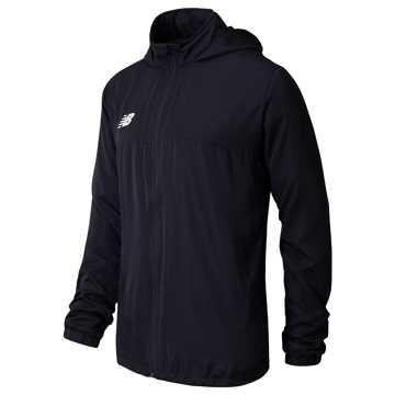 Men's Training Rain Jacket, Black