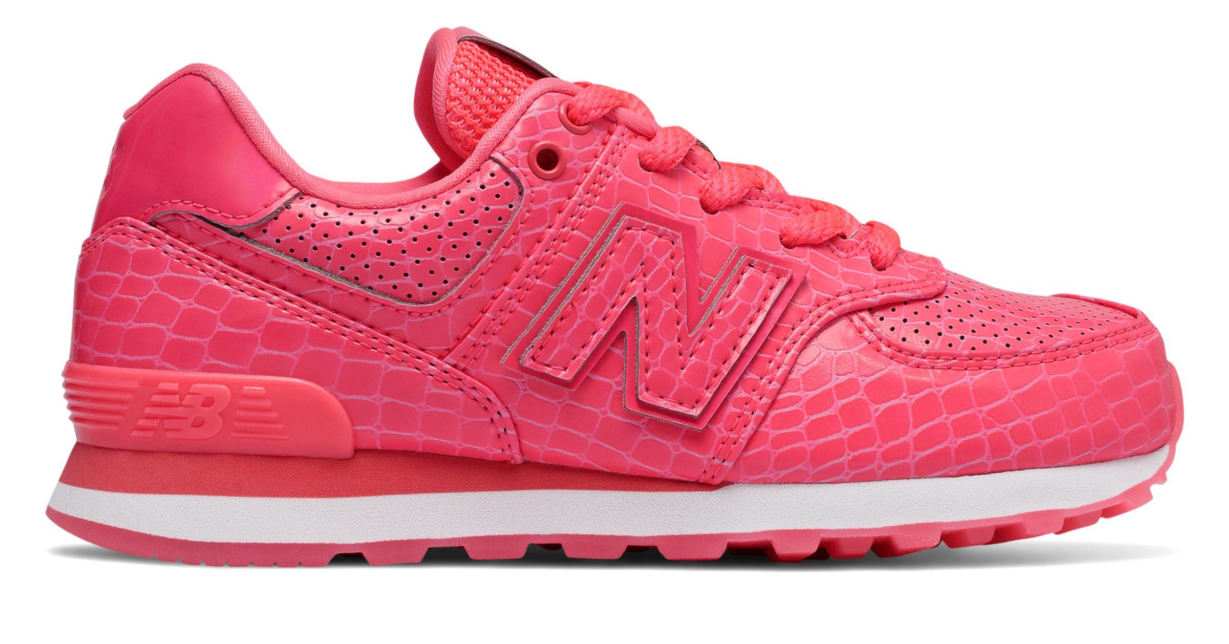 Deportivo New Balance 574 Pink Mujer - 39, Rosa