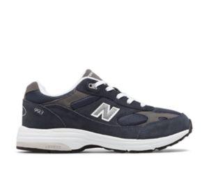뉴발란스 993v1 빅키즈용(남녀공용) 그레이 New Balance Kid's 993v1,Navy