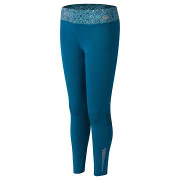 New Balance Fashion Performance Tight, Castaway with Aquarius