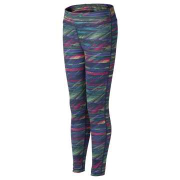 New Balance Fashion Performance Tight, Lime Glo