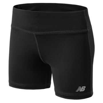 New Balance Performance Bike Shorts, Black
