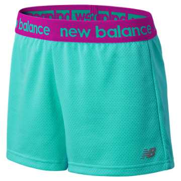 New Balance Performance Core Shorts, Reef with Urchin