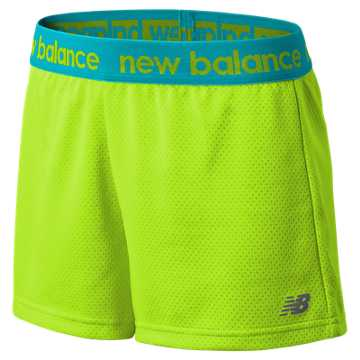 New Balance Performance Core Shorts, Toxic with Reef
