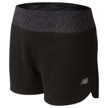 New Balance Knit Running Short, Black