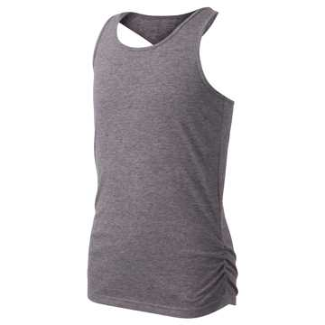 New Balance Performance Tank, Charcoal Heather