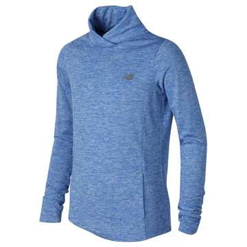 New Balance Cross Neck Pullover, Majestic Blue