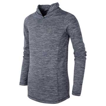 New Balance Cross Neck Pullover, Thunder
