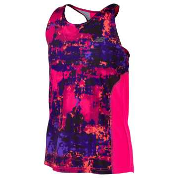 New Balance Fashion Performance Tank, Alpha Pink