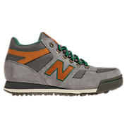 New Balance 710, Grey with Tan & Green