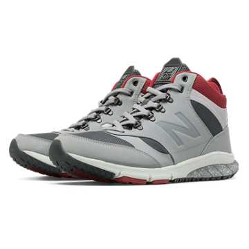 New Balance 710 Vazee Outdoor, Light Grey with Navy & Red