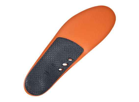 Stability Insole, Blue with Orange & Black