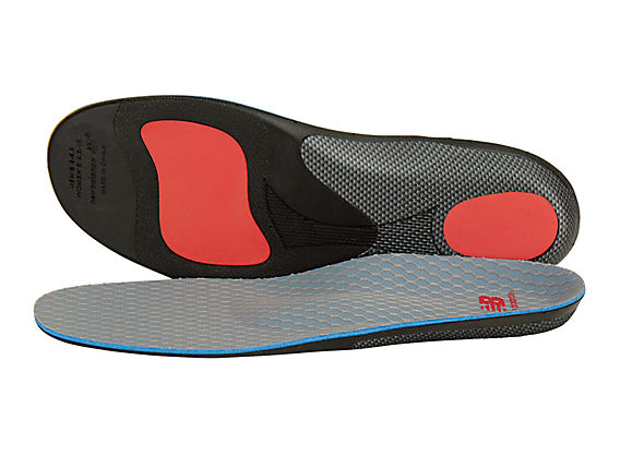 Motion Control Insoles, Blue with Orange & Black