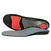 Supportive Cushioning Insoles, Blue with Orange & Black