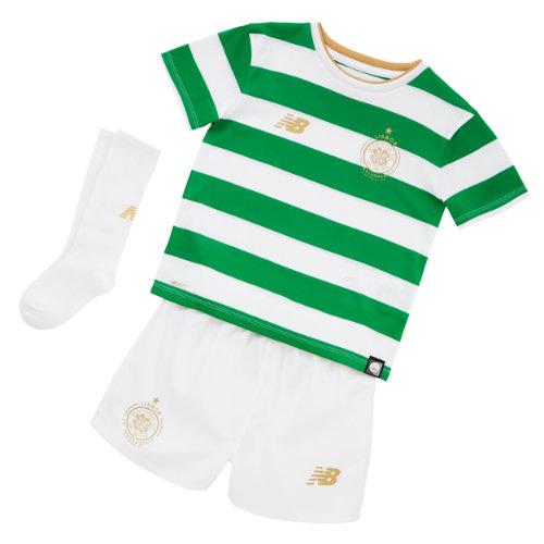 New Balance CFC Home Infant Kit - Set Unisex Celtic FC - IY730131WT