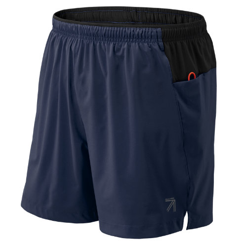 New Balance : J.Crew 5 Inch Impact Hybrid Short : Men's Performance : JMS73257NV