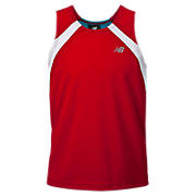 Boys Shockwave Singlet, Chinese Red