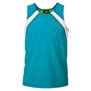Boys Shockwave Singlet, Kinetic Blue