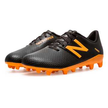 New Balance Junior Furon Dispatch FG, Black with Impulse