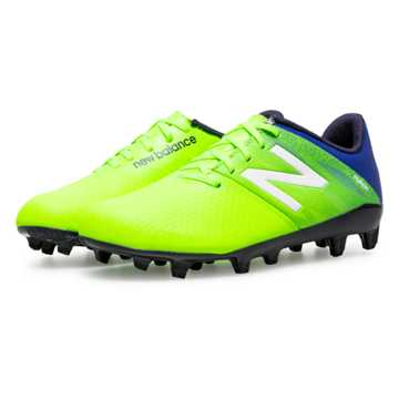 New Balance Junior Furon Dispatch FG, Toxic with Pacific & Black