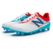 NB Junior Furon 2.0 Dispatch FG, White with Atomic & Barracuda
