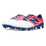 Junior Furon Dispatch FG, White with Flame & Bolt