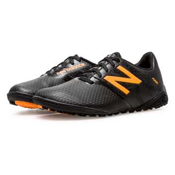 New Balance Junior Furon Dispatch TF, Black with Impulse
