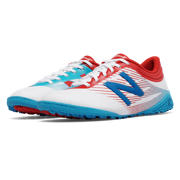 NB Junior Furon 2.0 Dispatch TF, White with Atomic & Barracuda