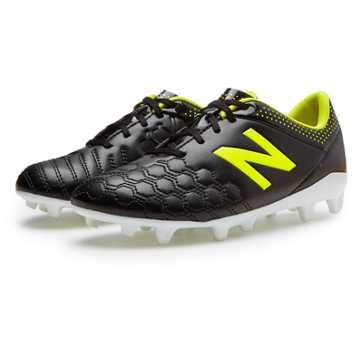 New Balance Junior Visaro Pro FG, Black with Firefly