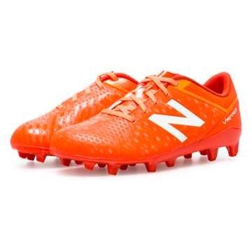 New Balance Junior Visaro Control FG, Lava with Impulse & Fireball