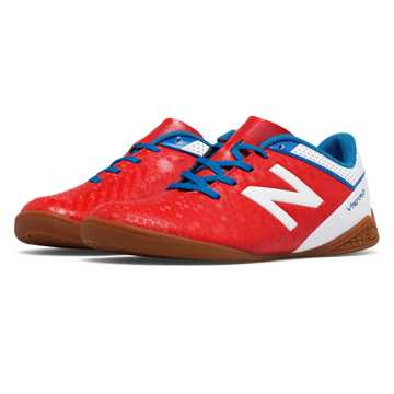 New Balance Junior Visaro Control IN, Atomic with White & Barracuda