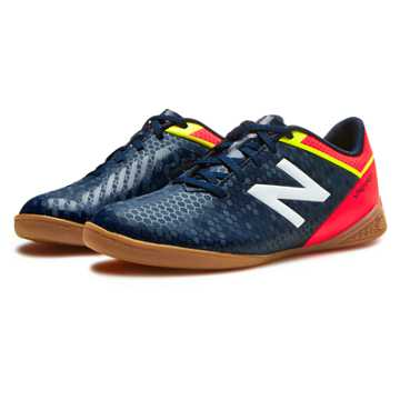 New Balance Junior Visaro Control IN, Galaxy with Bright Cherry & Firefly