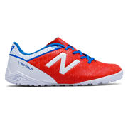NB Junior Visaro Control TF, Atomic with White & Barracuda