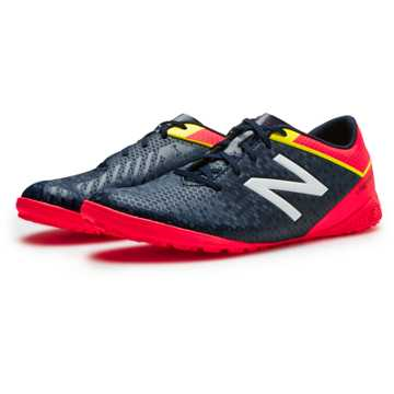 New Balance Junior Visaro Control TF, Galaxy with Bright Cherry & Firefly