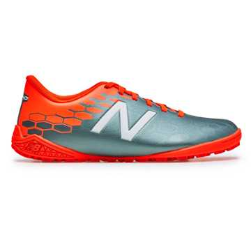 New Balance Junior Visaro 2.0 Control TF, Tornado with Alpha Orange