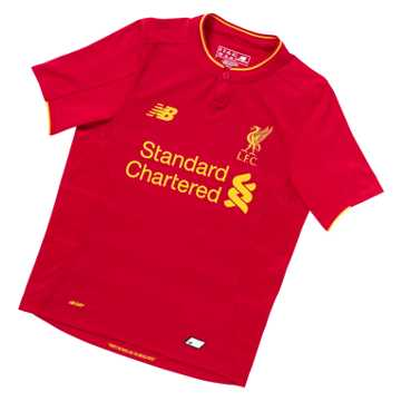 New Balance LFC Jr Home SS Jersey, High Risk Red