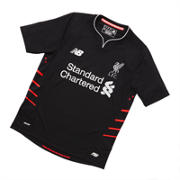 New Balance LFC Jr Away SS Jersey, Black
