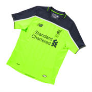 NB LFC Jr 3rd Short Sleeve Jersey, Toxic
