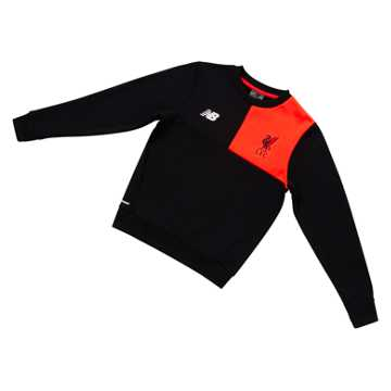 New Balance LFC Jr Elite Training Sweatshirt, Black