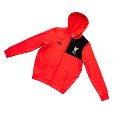 New Balance LFC Jr Elite Training Hoodie, Flame